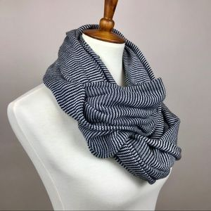 Urban Outfitters Striped Knit Infinity Scarf